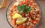 Salade croquante et vitaminée radis noir, carottes et pommes