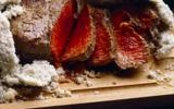 Côte de boeuf en croûte de sel