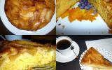 Gâteau aux pommes caramélisées traditionnel