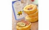 Tartelette à l'artichaut, au foie gras et à l'huile Vierge d'argan Bio La Tourangelle
