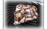 Gâteau au chocolat et à la noix de coco maison