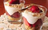 Trifle aux fraises, citron et mascarpone