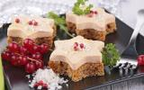 Bouchées de foie gras et pain d'épices
