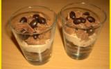 Verrines aux cookies et crème de marrons