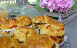 Muffins de poivrons, tapenade et mozzarella