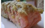 Saumon en croûte d'amandes
