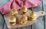 8 mini-burgers so cute pour l'apéro