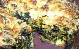 Lasagnes aux épinards et poulet