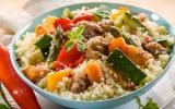 Couscous marocain au boeuf