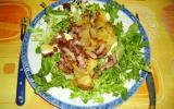 Salade vosgienne à la crème fraîche