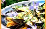 Salade de moules de bouchot, sauce légère au curry