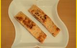 Saumon au sirop d'érable et sésame