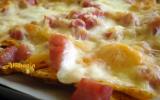 Nachos jambon-fromage