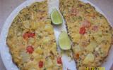 Torilla espagnole aux pommes de terre et aux oignons