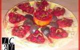 Crêpes vanillées aux saveurs de framboises & fruits de la passion