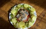 Salade de pommes de terre aux harengs