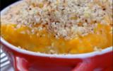 Gratin en mini-cocottes de pommes de terre et butternut aux zestes d'agrumes, chapelure de noisettes
