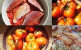 Tian de tomates aux rougets
