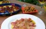 Carpaccio de thon rouge à la japonaise