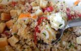 Boulgour en salade