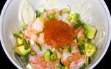 Ma salade japonaise, le chirashi