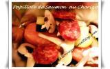 Papillote de Saumon au Chorizo