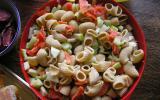 Salade de pâtes/concombre et pommes Granny