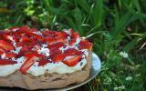 Pavlova fraise-violette