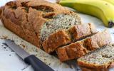 Banana bread aux graines de pavot