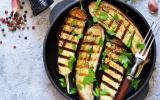 Aubergines grillées au barbecue