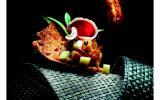 Magret de canard sur pain d'épice au chutney de beaufort