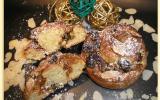 Briochettes à la vergeoise & aux fruits secs