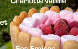Charlotte vanille et ses fraises ...