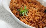 Le crumble provençal au haché de soja
