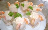 Mousses poisson crevettes