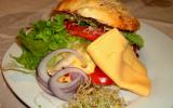 Pain hamburger maison