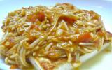 Steaks de Tofu à la sauce beurre-sauce soja