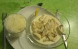 Emincé de poulet sauce citronnée