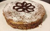Empilement de crêpes au nutella, façon gâteau