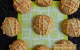 Biscuits sablés à la semoule fine