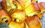Mini-pain au Nutella feuilleté et brioché