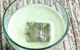 Soupe glacée aux Cosses de Petits Pois
