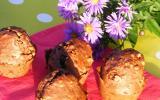 Muffins au chocolat & pralin (sans beurre)