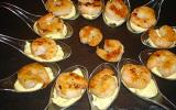 Gambas sauce mayonnaise au curry maison