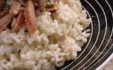 Risotto au poulet et au gorgonzola