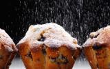 Muffins aux mûres de Chef Christophe