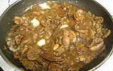 Rognons de veau sautés aux cèpes et au Pellegrino