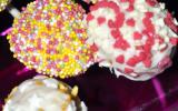Cake pops vanille et chocolat