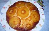 Gâteau renversé des îles