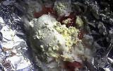 Filets de panga en papillote et à la crème